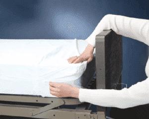 Housse de matelas imperméable en vinyle