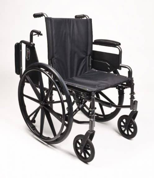 Fauteuil roulant ultraléger Traveler L4 avec roues détachables