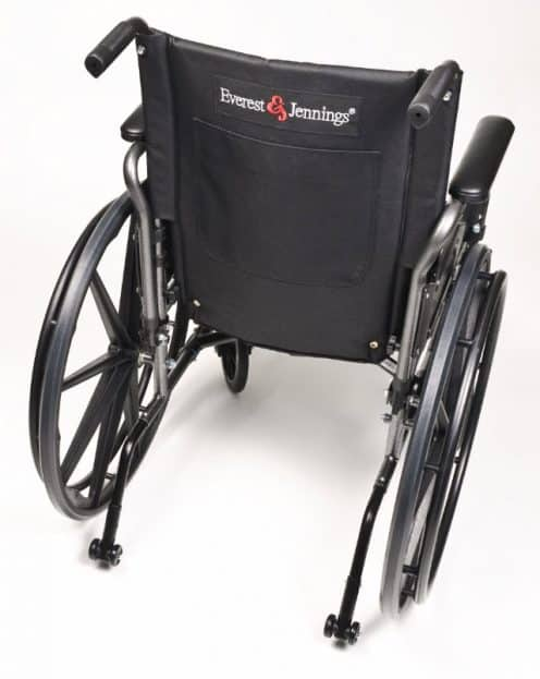 Wheelchair Lightweight Traveler L4 with Quick Release Wheels