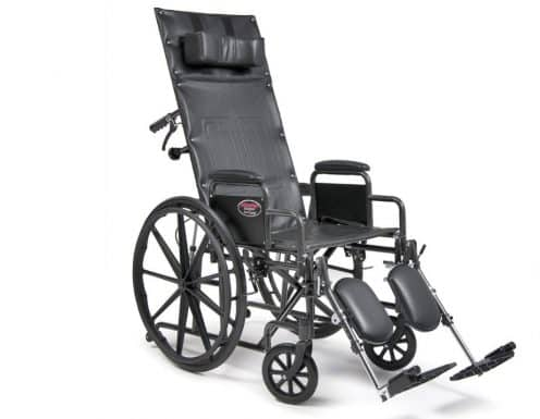 Fauteuil roulant inclinable Avantage