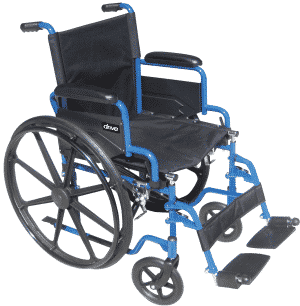 Chaise roulante Blue Streak par Drive Medical