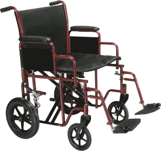 Chaise de transport bariatrique par Drive medical