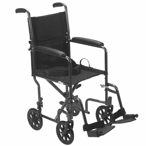 Chaise de transport acier par Drive Medical